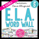 ELA Word Wall (5th Grade)