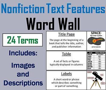 ELA Word Wall Bundle