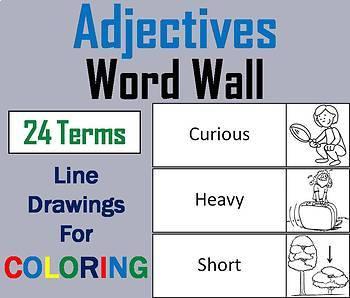 Parts of Speech Word Wall Bundle