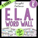 ELA Word Wall (Kindergarten)
