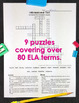 5th Grade ELA Worksheets Vocabulary Crossword Puzzles