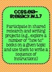 Common Core ELA Writing Posters 1st grade