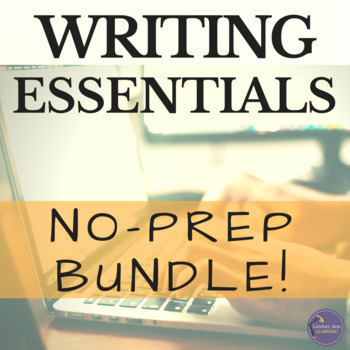 Writing and Grammar Bundle for Middle School and High School ELA