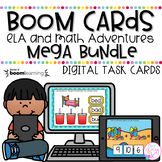 ELA and Math Adventures Mega Bundle | Boom Cards™