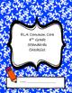 ELA and Math Common Core Standards Checklists - 4th grade