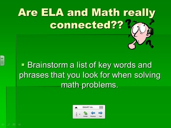 ELA and Math Connection Lesson- Common Core