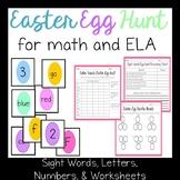 ELA and Math Easter Egg Hunt Games