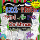 ELA  and Math Print and Go Pack  Christmas and Winter Theme Common Core Inspired