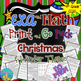 ELA  and Math Print and Go Pack  Christmas and Winter Them