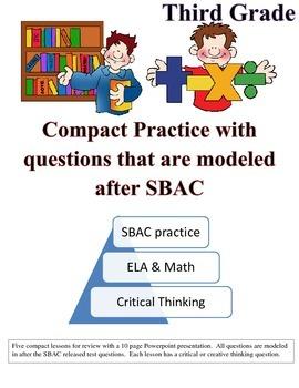ELA and Math SBAC Practice (PARRC)