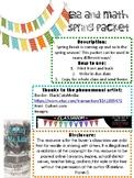 ELA and Math Spring Packet *Growing*