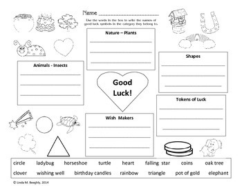 ELA and Math with Lucky Leprechaun Art