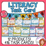 ELA and Reading Task Card Bundle for Grades 1-3