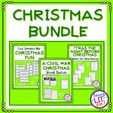 ELA and Social Studies Christmas Bundle