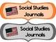 ELA and Social Studies Journal Labels
