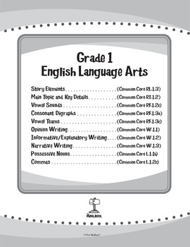ELA eUnits Gr. 1 - Set of 10