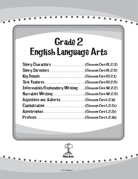 ELA eUnits Gr. 2 - Set of 10