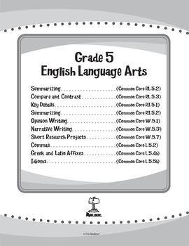 ELA eUnits Gr. 5 - Set of 10