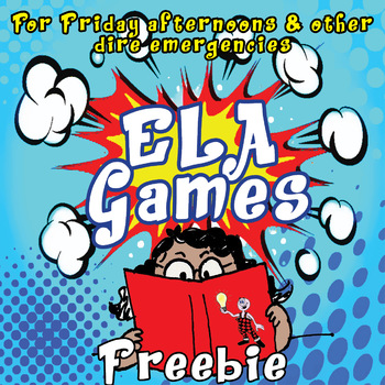 ELA games FREEBIE: for Friday afternoons and other dire emergencies