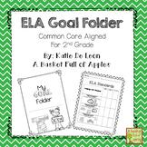 ELA student goal binders