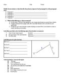 ELA grades 9-10 beginning of the year pretest