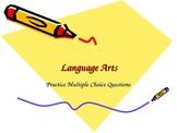 ELA- grammar practice - multiple choice PPT