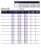 ELA iReady Class Data Recording Sheet