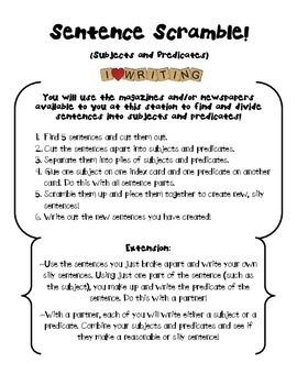 ELA in Action: 5 Differentiated Literacy Tasks with Extensions