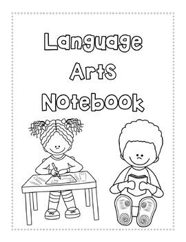 ELA notebook cover