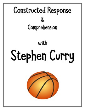 ELA test review comprehension & constructed response writing w/ Stephen Curry
