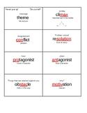 ELA vocabulary flashcard sandwiches