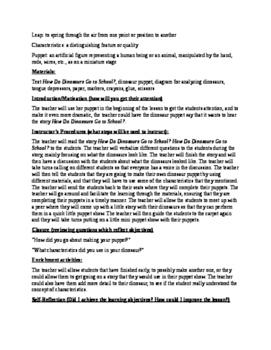 ELACCKSL6 Dinosaur Lesson