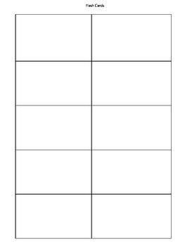 ela math flashcard template by jenna kastran teachers. Black Bedroom Furniture Sets. Home Design Ideas