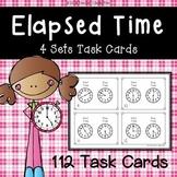ELAPSED TIME TASK CARD BUNDLE - 112 TASK CARDS