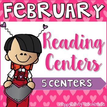 ELAR February Centers [Color & B/W]
