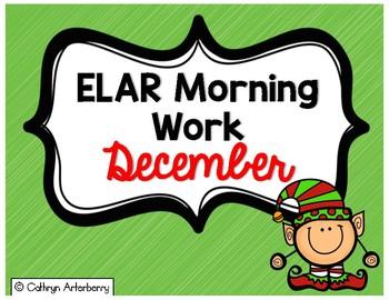 ELAR Morning Work-December