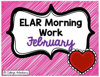 ELAR Morning Work-February
