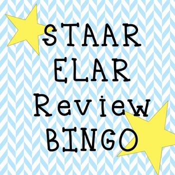 6-8 ELAR STAAR Review BINGO