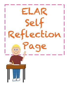 ELAR Self Reflection Template
