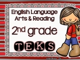 ELAR TEKS Posters - 2nd grade {Red Stripes}