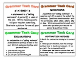 ELAR task cards-- Daily 5 Word work and Work on Writing Gr