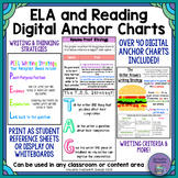 ELA/Reading Strategy Digital Anchor Charts