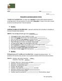 ELA_Transitive & Intransitive Worksheet