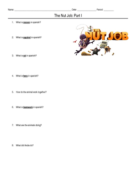 ELD - Learn English Through Movie - Nut Job