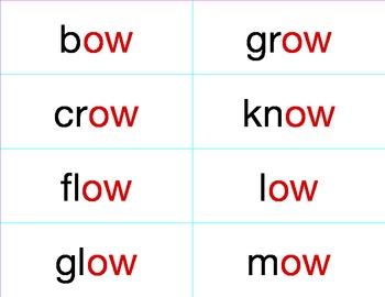 ELD Phonics Word Cards
