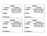 ELD Smart Start Conversation Cards with Sentence Starters