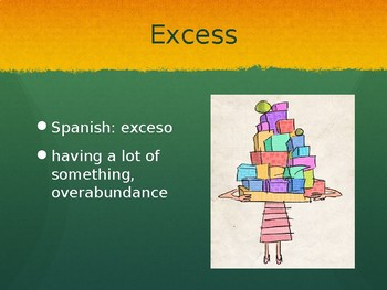 ELD Spanish Holes Vocabulary & Introduction