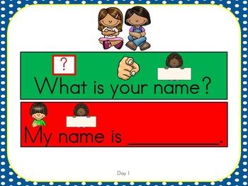 ELD Unit (Beginner L1) My Name