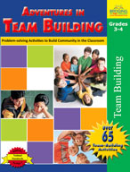 Adventures in Team Building: Grades 3,4 (Enhanced eBook)