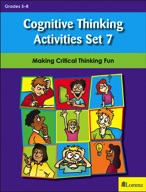 Cognitive Thinking Activities Set 7